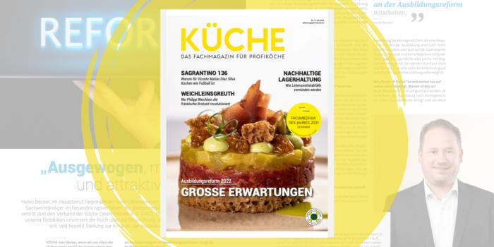 Neuordnung des Kochberufs im Fokus der KÜCHE 7