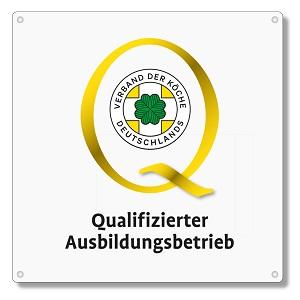 Qualifizierter Ausbildungsbetrieb Logo Neu Schild Klein